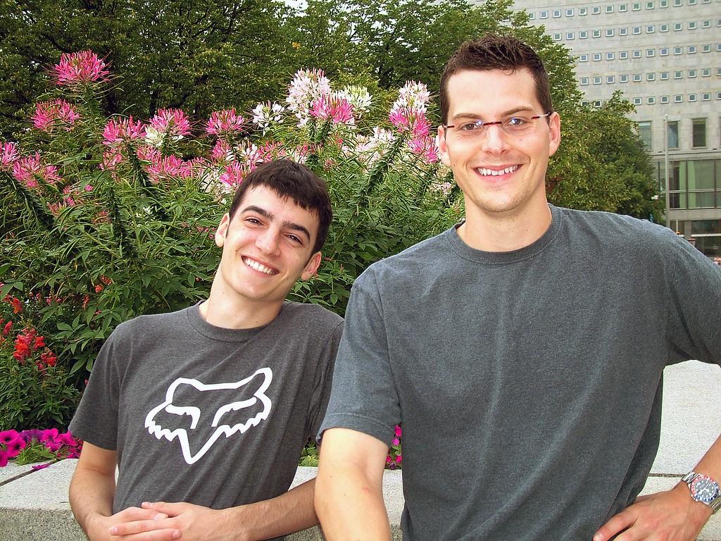 Lonny and Jordan in Ottawa