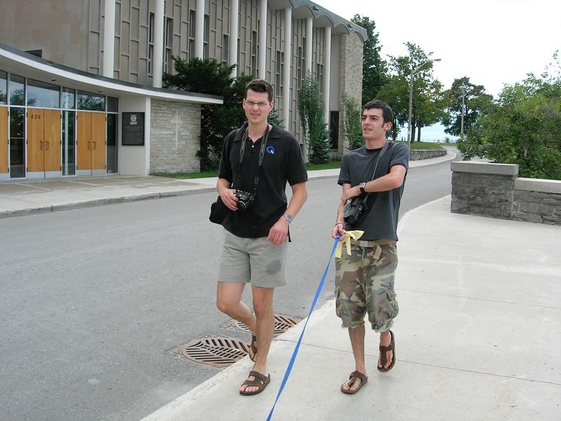 Jordan and Lonny in Ottawa