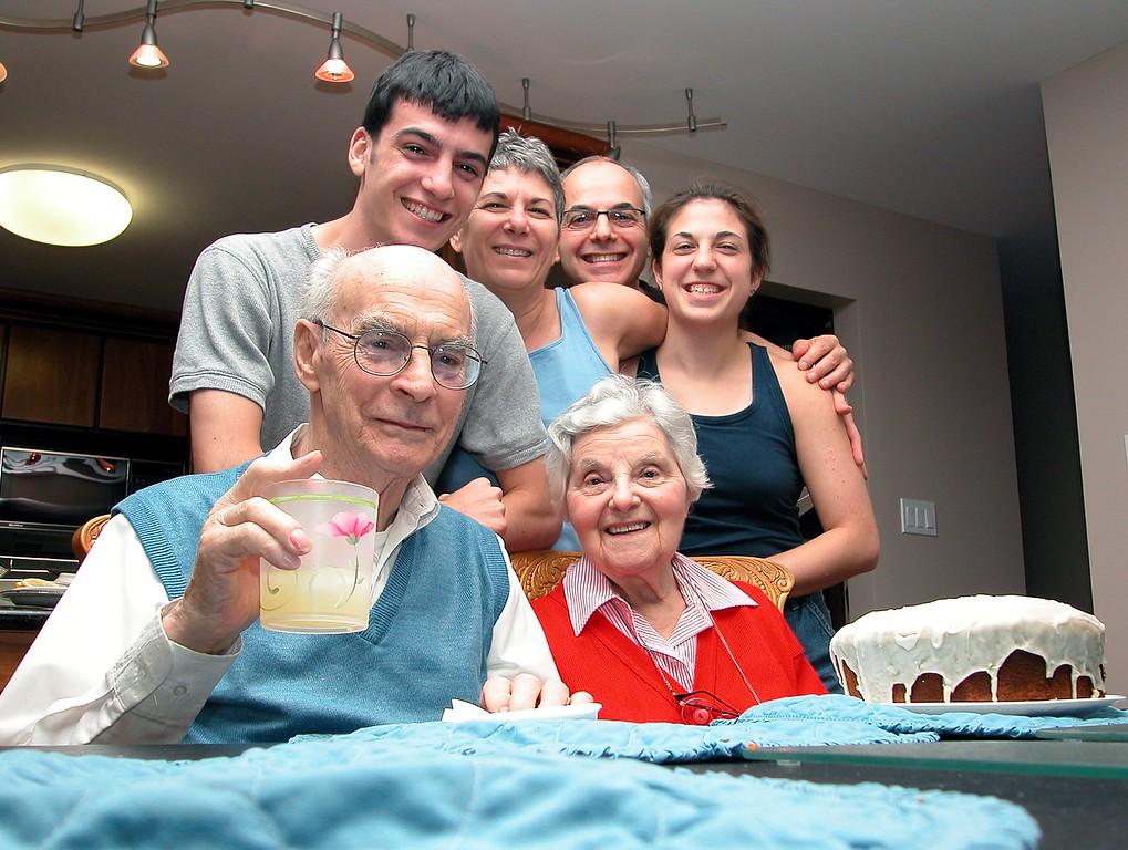 Family with Zaida and Bubba