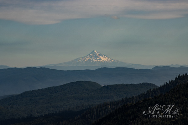 Mt Hood from Smith Creek viewpoint