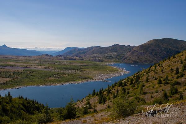 Spirit Lake from WIndy Ridge