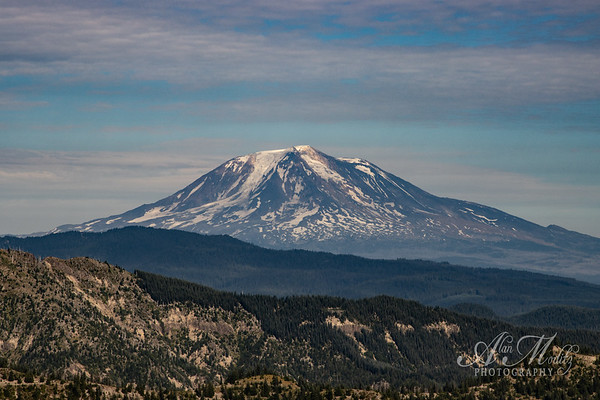 Mt Adams from Smith Creek viewpoint