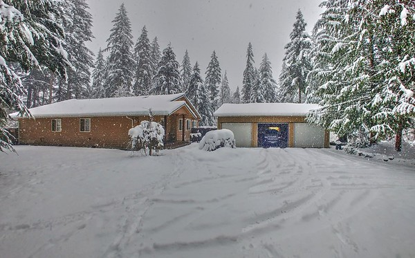 2019 Feb Snow Event 17+ Inches of snow