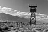 Manzanar guard tower.