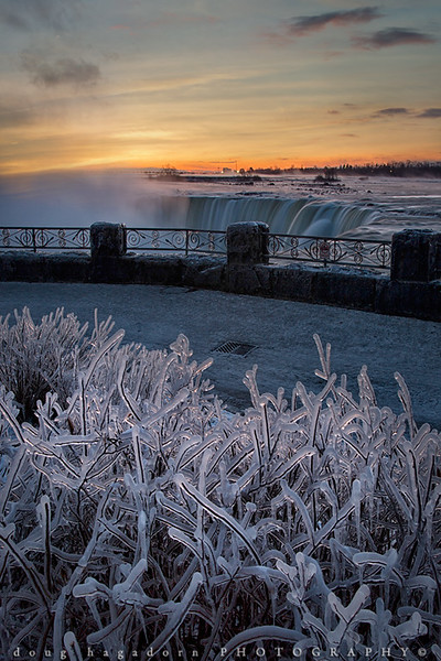 An Icy Niagara Sunrise (#0499)