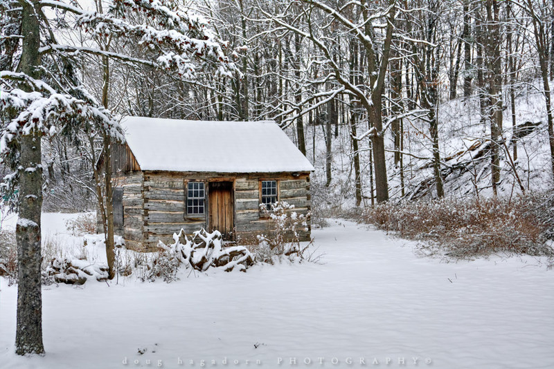 Winter Cabin (#0038)