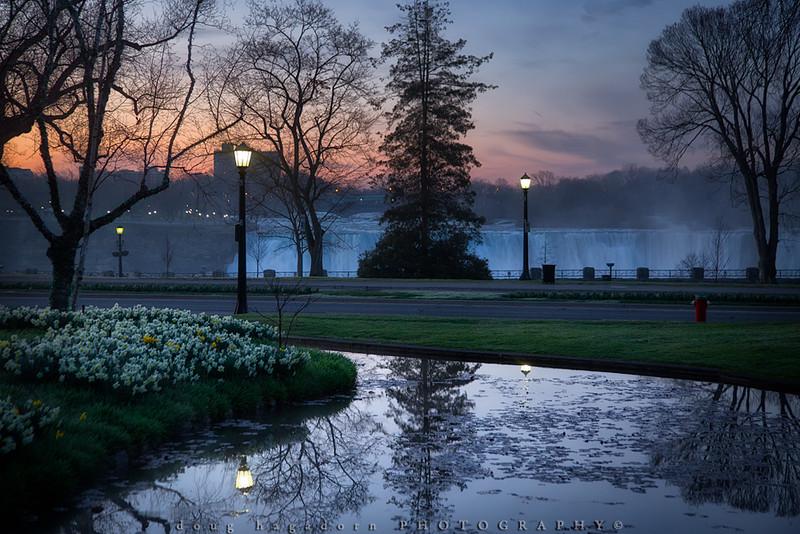 Niagara's Spring Sunrise