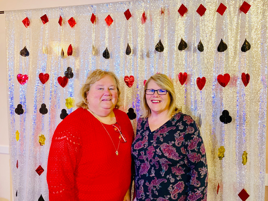 . Mary Jo Welch and Betsy Whippen of Chelmsford