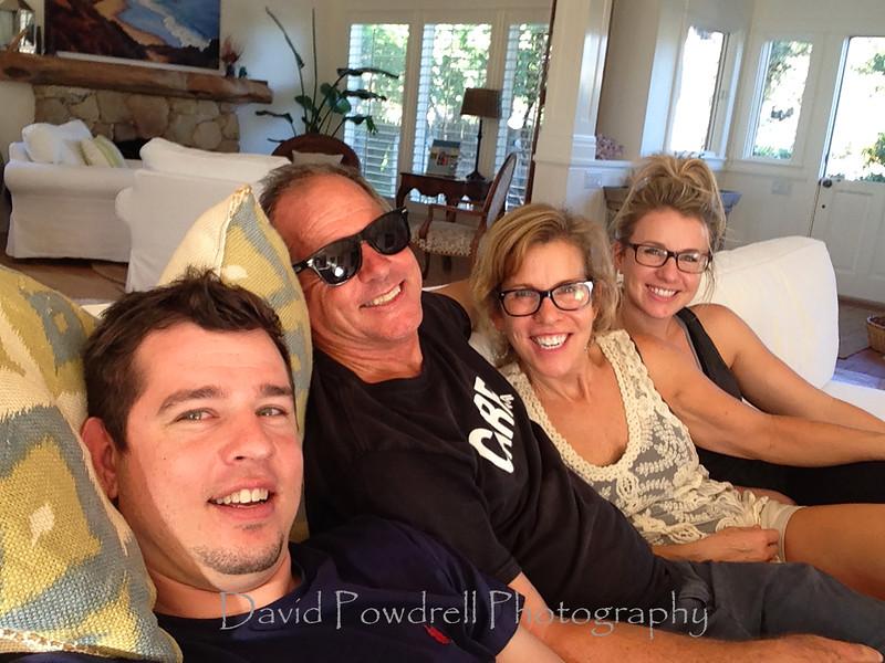 Powdrell family selfie