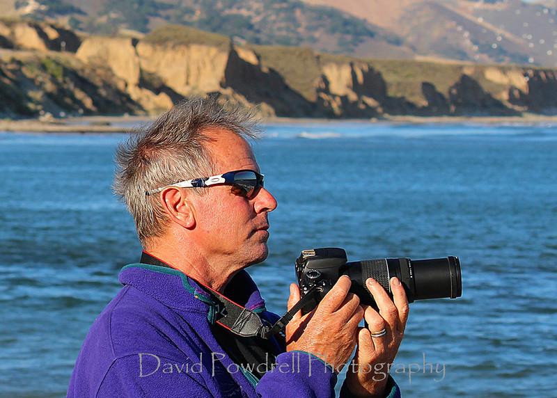 David Powdrell - Cojo Point.  Photo by Johnny Beardsmore.