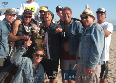 Derek's annual beach decathlon.  Prior winners.