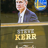 Just to add to the excitement, Steve Kerr was coming back to coach for the first time in several weeks.