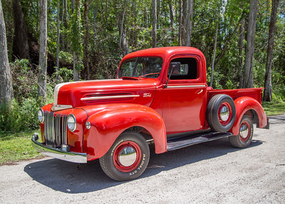 Vintage Car Shoot - Pre WW2 Ford PickUp Truck
