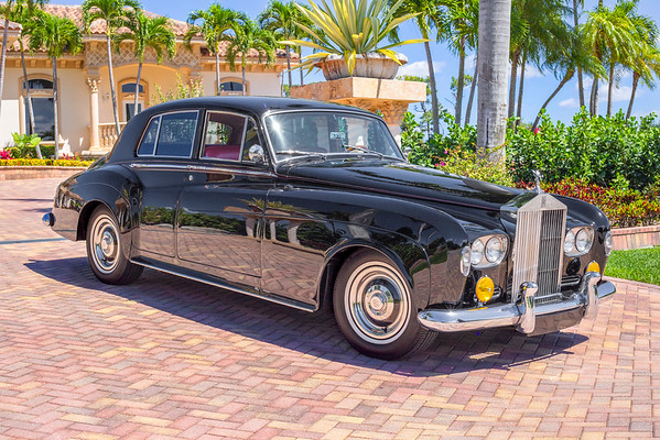 Vintage Car Shoot- 1964 Rolls Royce