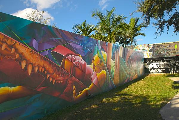 Wynwood Wall Art (Wynwood Art District, Miami, Florida)