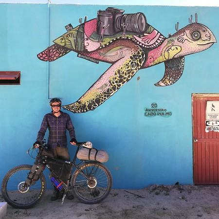 Mural in Cabo Pulmo