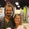 DAY 10: August 9, 2010<br /> Michael Franti and me at Half Moon Outfitter. Mini concert before his evening concert....in which I didn't get tickets early and they're sold out. DANG