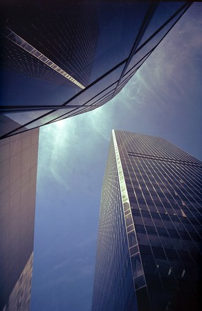Toronto Dominion Bank Tower, Vancouver, BC, Canada, 1972
