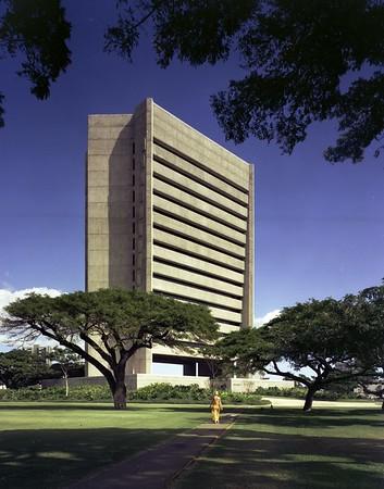 Honolulu Municipal Building, Hawaii, 1977