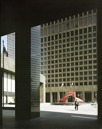 Arco & Bank of America Towers, Los Angeles, Calif., 1985
