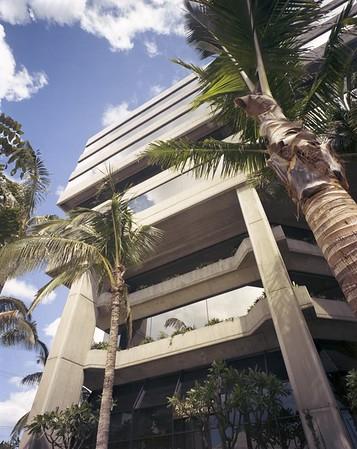 Hasegawa-Komuten Building, Honolulu, Hawaii, 1981