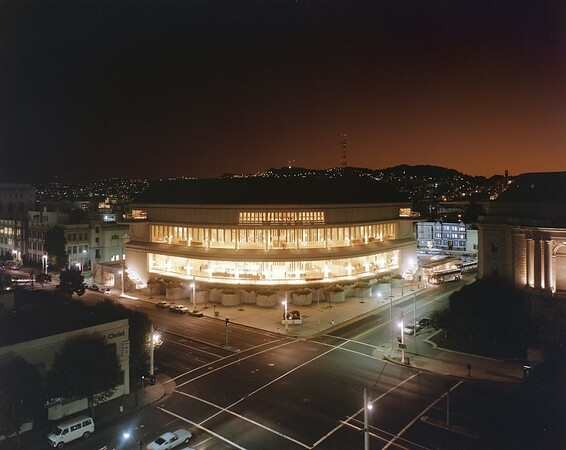 Davies Symphony Hall, San Francisco, Calif., 1982