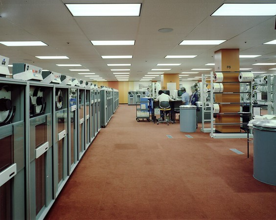 Bank of America Data Center, Los Angeles, Calif., 1979