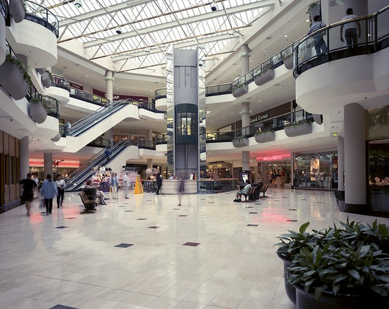 Sherman Oaks Galleria, Calif., 1993