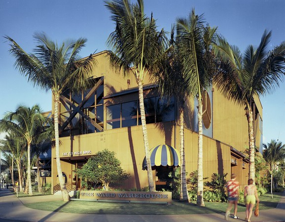 The Ward Warehouse, Honolulu, Hawaii, 1977