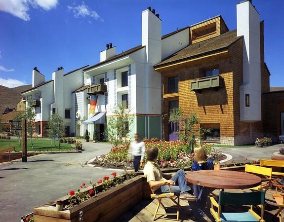 Elkhorn Condos, Sun Valley, Idaho, 1974