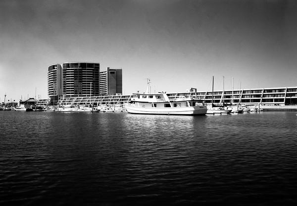 Marina City, Marina del Rey, Calif., 1972