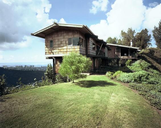 Morgan residence, Honolulu, Hawaii, 1976