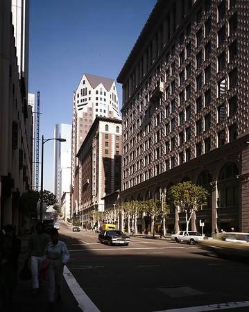 Biltmore Hotel tower, Los Angeles, Calif., 1988