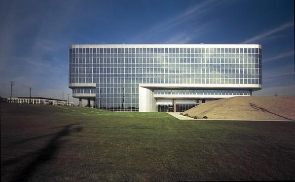 FAA building, Lawndale, Calif, 1974