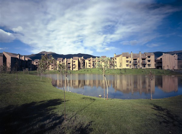 Elkhorn Condos, Sun Valley, Idaho, 1974