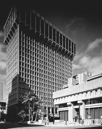 Financial Plaza, Honolulu, Hawaii, 1971