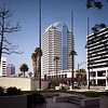Landmark Square, Long Beach, Calif., 1992
