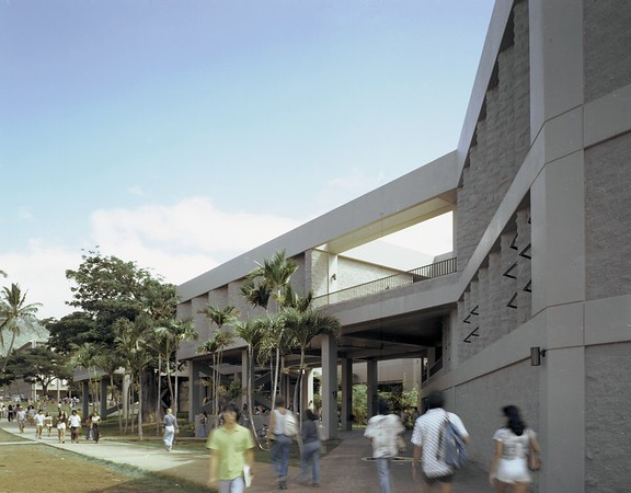 Art School, Univ. of Hawaii, Honolulu, 1976