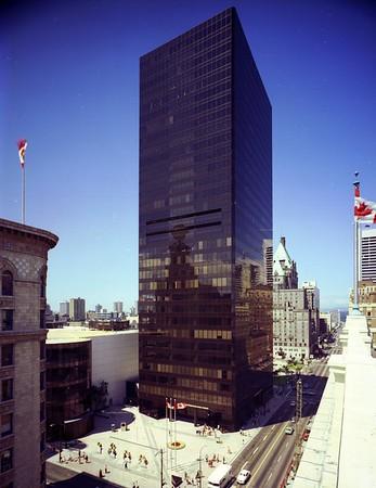 Toronto Dominion Bank Tower, Vancouver, BC, Canada, 1972