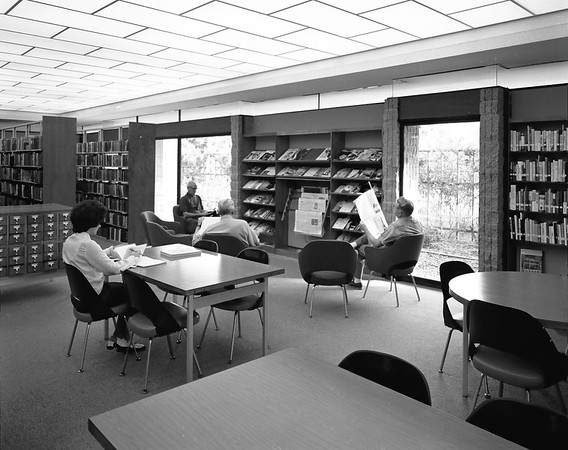Pasadena Library, Calif., 1970
