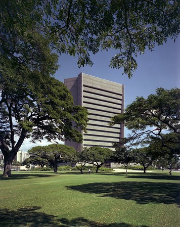 Honolulu Municipal Building, Hawaii, 1977