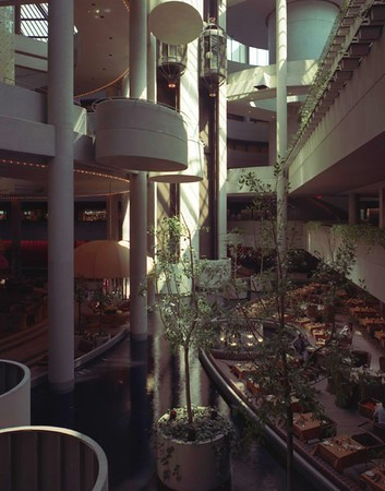 Bonaventure Hotel, Los Angeles, Calif., 1977