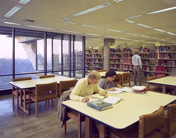 Library, UC San Diego, 1970