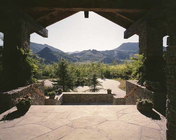 Nickeli residence, Sun Valley, Idaho, 1996