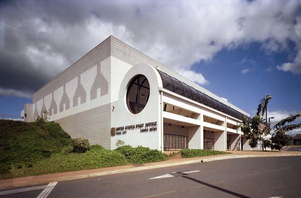 Pearl City Post Office, Honolulu, Hawaii, 1981