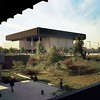 Cain Library, UC Dominguez Hills, Carson, Calif., 1972