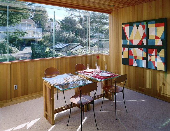 Thodos residence 1, Carmel-by-the-Sea, Calif., 1997