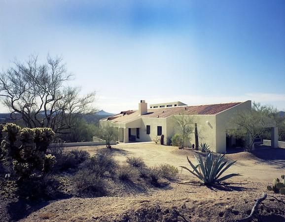 Franz residence, Carefree, Ariz., 1972