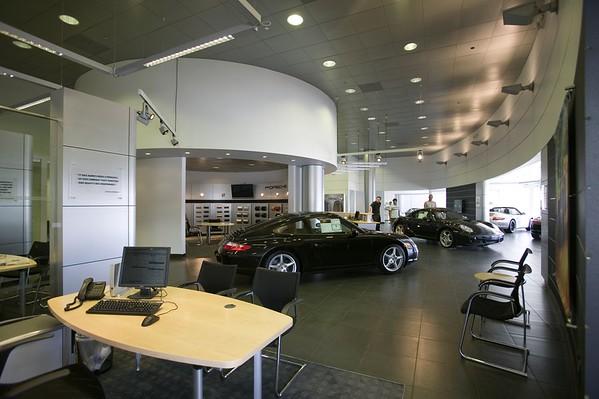 Porsche, Downtown L.A. Auto Group, Los Angeles, Calif., 2006