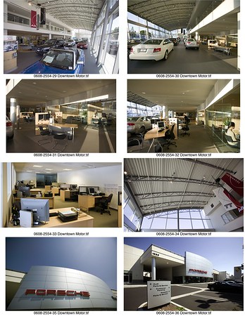 Audi & Porsche, Downtown L.A. Auto Group, Los Angeles, Calif., 2006